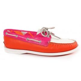 Sperry AO Pink-White-Orange